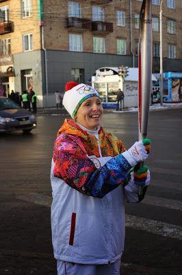 эстафета олимпиада