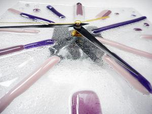 Мастер-класс «Часы из стекла в технике фьюзинг» | Ярмарка Мастеров - ручная работа, handmade