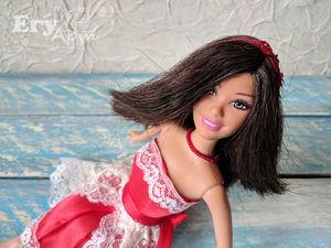 Преображение куклы Барби от Mattel. Ярмарка Мастеров - ручная работа, handmade.