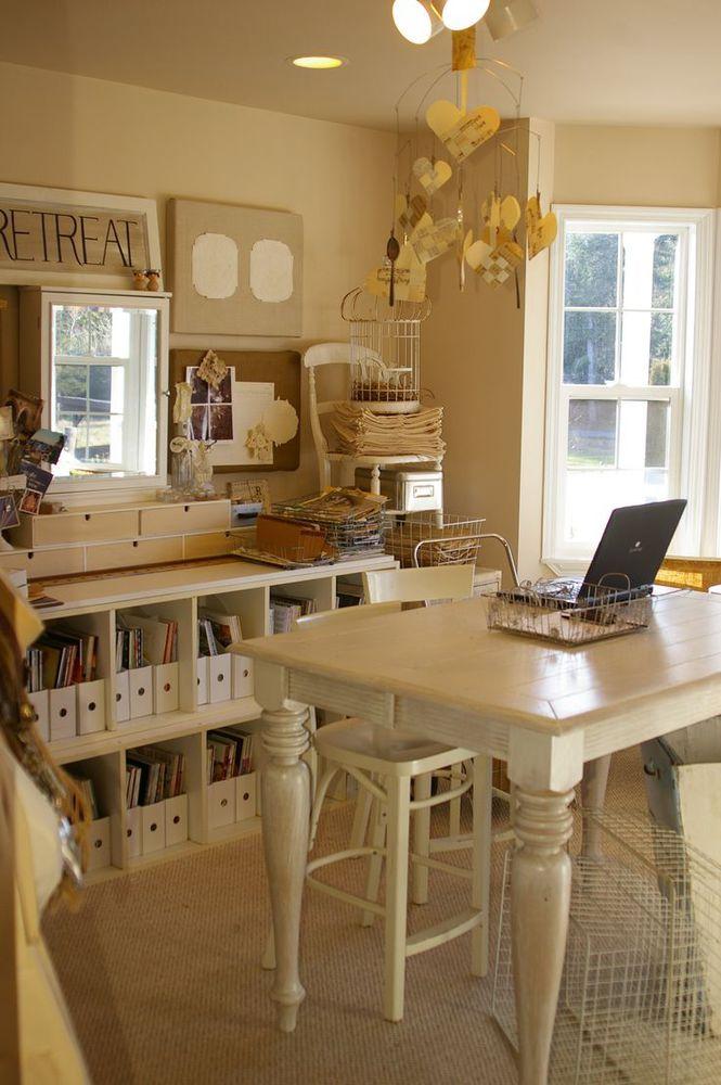 white workroom