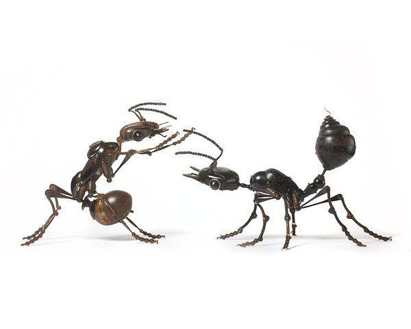 Металлически скульптуры Эдуарда Мартине, фото № 2
