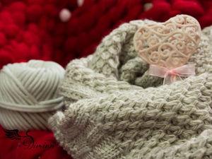 -40% на вязанные снуды, шарфы и косынки. Ярмарка Мастеров - ручная работа, handmade.