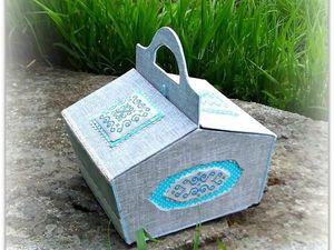 Мастерим из картона удобную корзину для пикника. Ярмарка Мастеров - ручная работа, handmade.