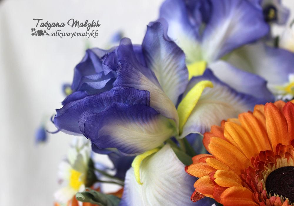 цветы из ткани обучение, цветы из шелка