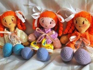 Вязаные куколки. Ярмарка Мастеров - ручная работа, handmade.
