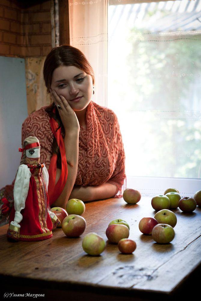 народная кукла, славянский стиль, достаток