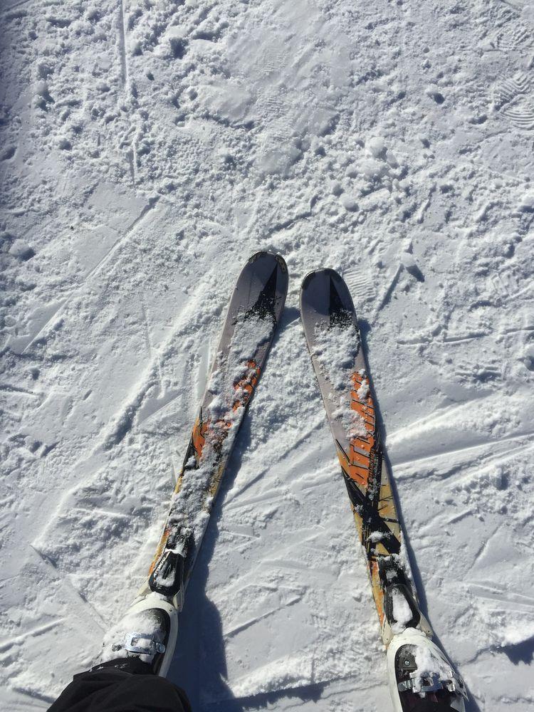 лыжи, горные лыжи