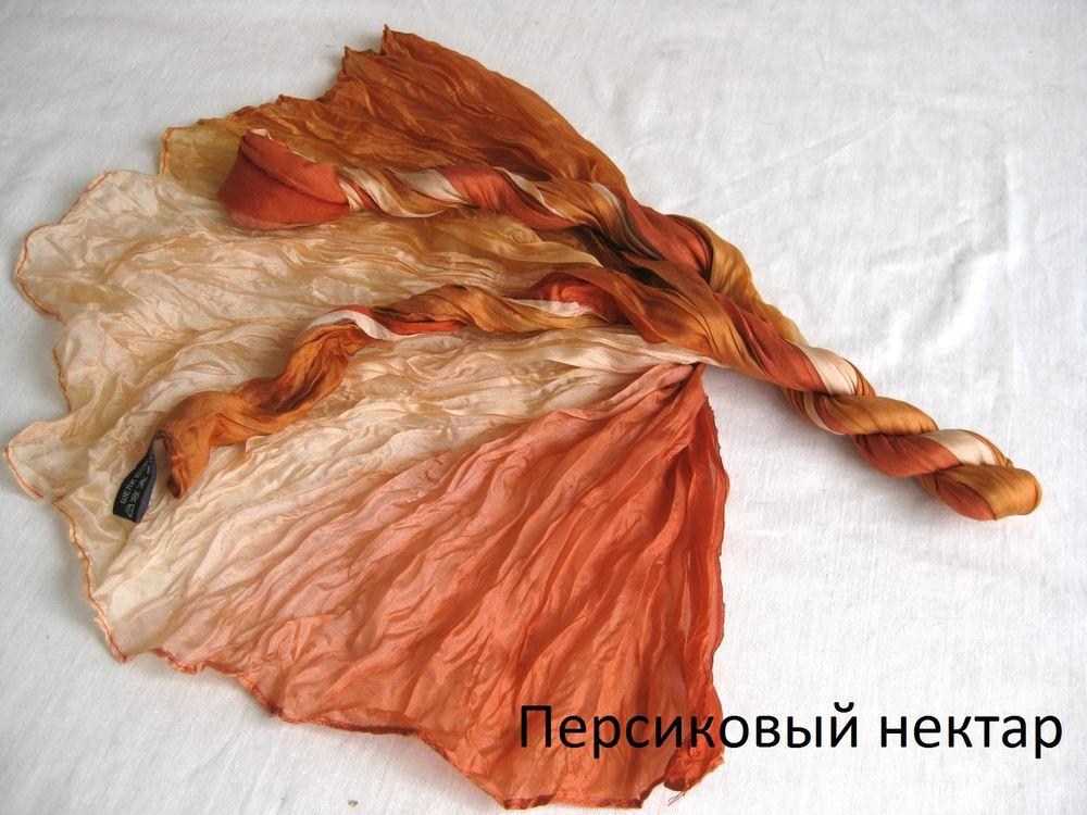 шелковый шарф, понже шелк купить