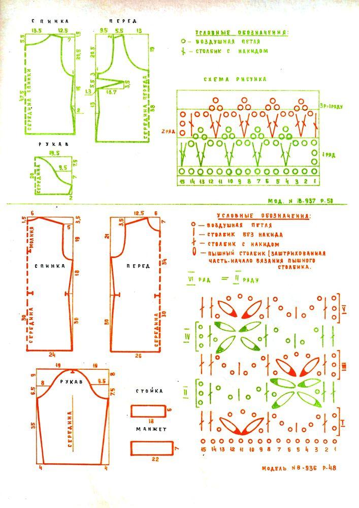 Выкройки из журнала «50 моделей ГУМа» 1972 года. Часть 1, фото № 17