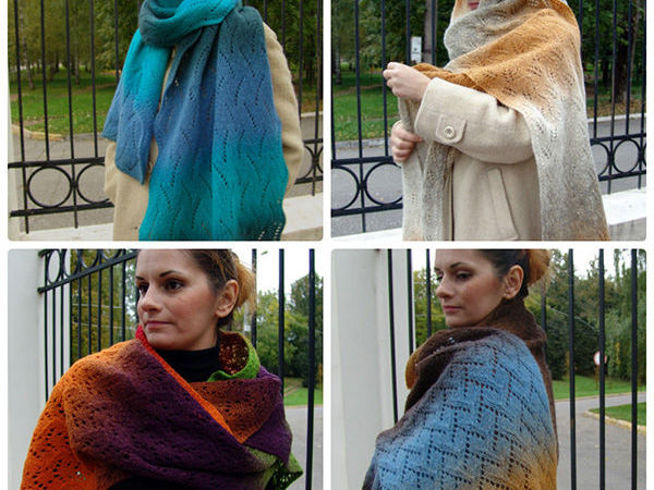 Новинки: коллекция шарфов из