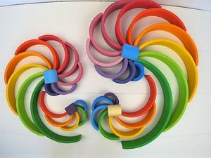 Игрушки из разноцветных дуг. Часть 1. Фото. Ярмарка Мастеров - ручная работа, handmade.