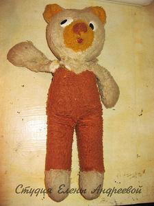 реставрация игрушек