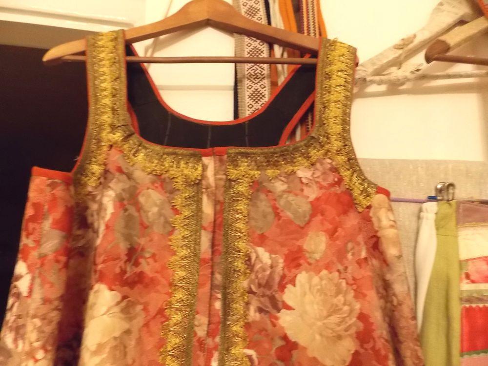 показ, одежда ручной работы, русская традиция