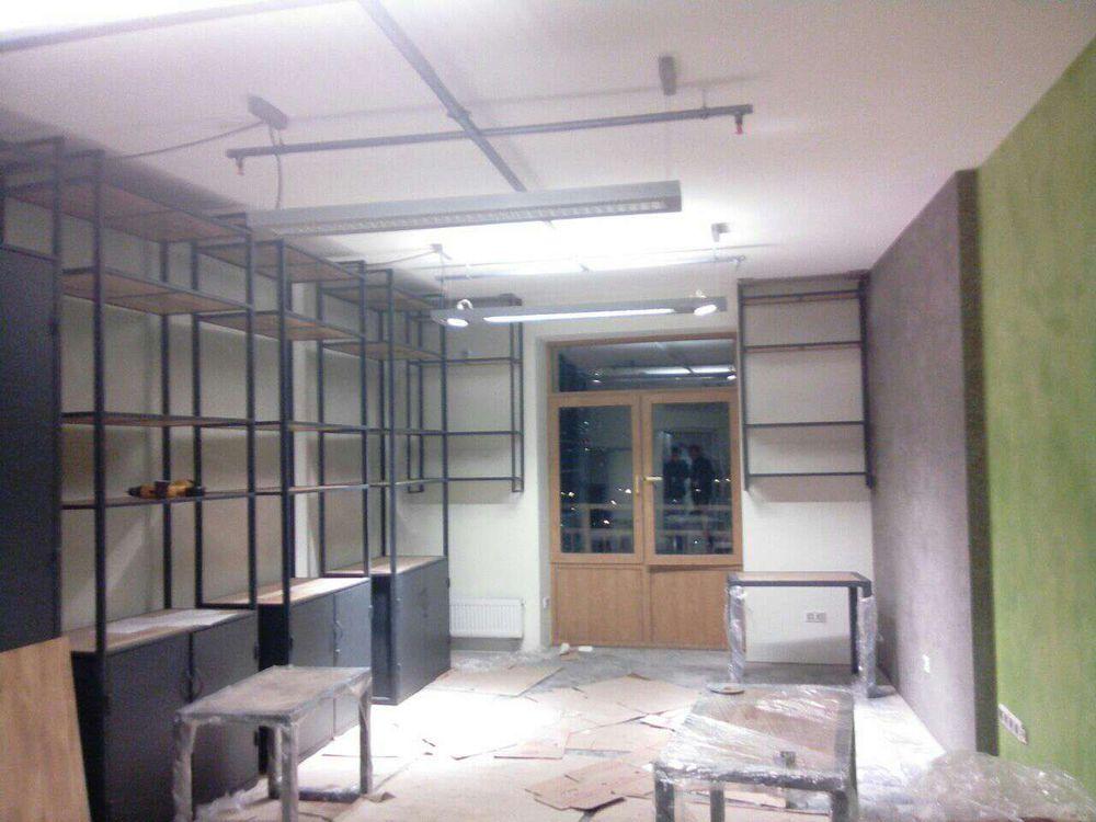 мебель для офиса, стеллажи, производство мебели, дуб, проектирование, установка