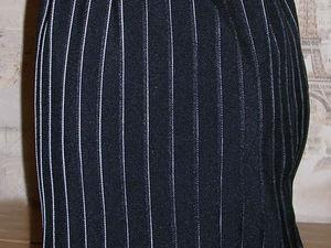 юбка, юбка офисная, бюка деловая, костюмная   Ярмарка Мастеров - ручная работа, handmade