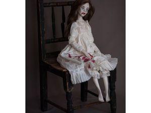 Портретная Кукла Эбби. Ярмарка Мастеров - ручная работа, handmade.