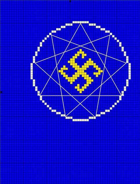 Славянские обереги схемы вышивки крестом