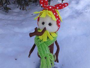 Шьем героя мультфильма «Новогодняя сказка» — Чудище-Снежище. Часть 1. Ярмарка Мастеров - ручная работа, handmade.