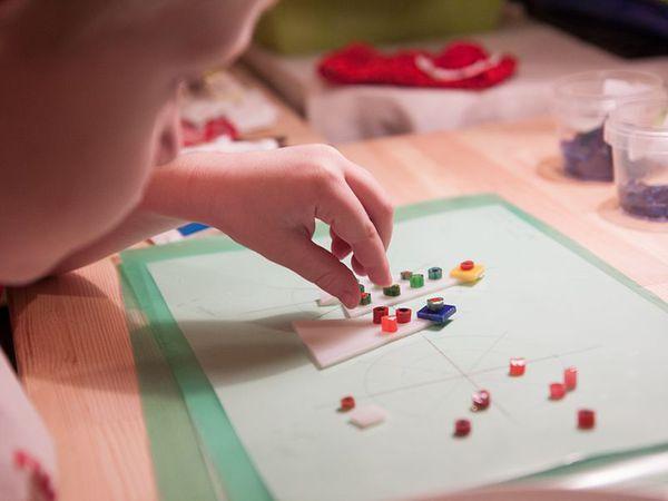 Фьюзинг с детьми — это возможно! | Ярмарка Мастеров - ручная работа, handmade