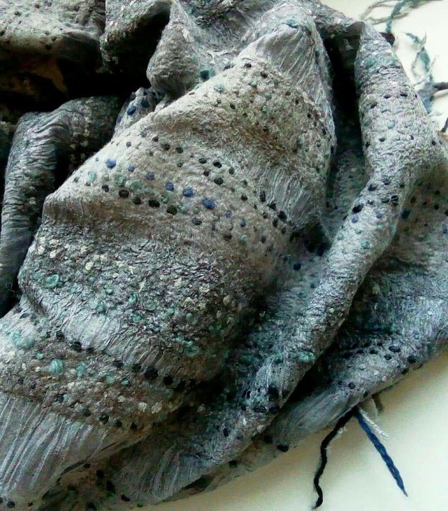 авторские аксессуары, подарок ручной работы, весенний шарф