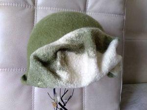 Новая необычная шляпка!. Ярмарка Мастеров - ручная работа, handmade.