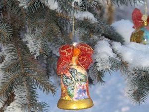 Набор ёлочных игрушек  «Зималетто». Ярмарка Мастеров - ручная работа, handmade.