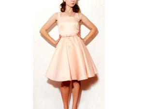 Шьем платье в стиле ретро. Ярмарка Мастеров - ручная работа, handmade.