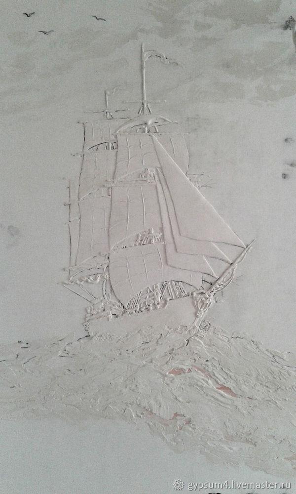 Изготавливаем барельеф «Карта», фото № 16