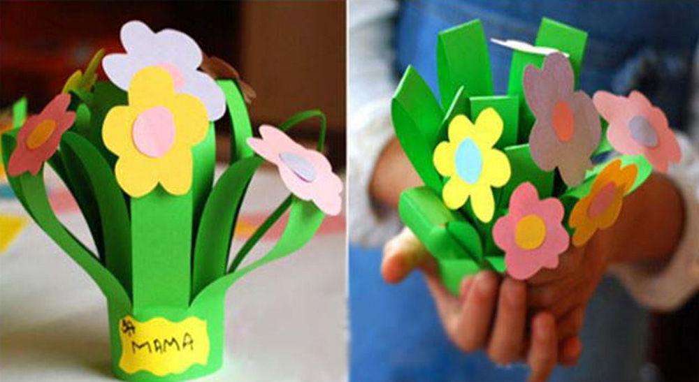 Поделки для мамы своими руками из бумаги