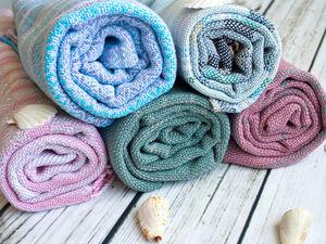 Бесплатная доставка хлопковых шарфов!. Ярмарка Мастеров - ручная работа, handmade.