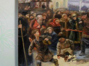 Живопись. Историческая картина. | Ярмарка Мастеров - ручная работа, handmade