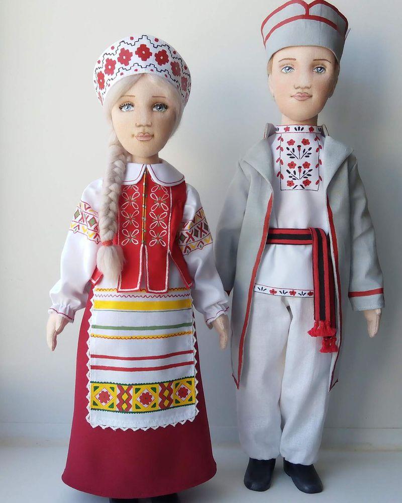 национальная одежда, татары