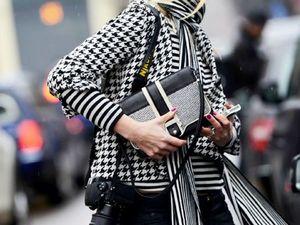 Женское пальто в «гусиную лапку» — основа модного гардероба. Ярмарка Мастеров - ручная работа, handmade.