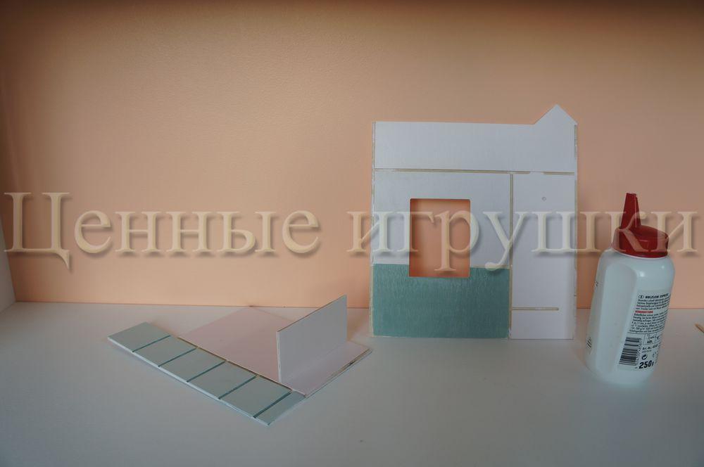 Мастер класс по сборке и оформлению кроватки домика., фото № 5
