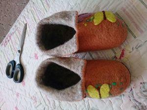 Чуни для девочки, или Как я использую остатки флиса. Часть 2. Ярмарка Мастеров - ручная работа, handmade.