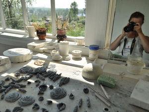 Процесс работы в летней мастерской.. Ярмарка Мастеров - ручная работа, handmade.