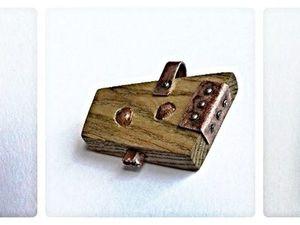 Три деревянные броши - новый взгляд. Ярмарка Мастеров - ручная работа, handmade.