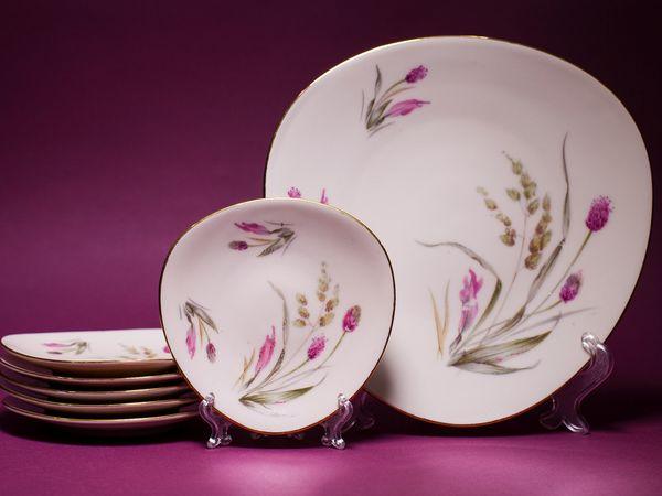Тарелочки для птифура | Ярмарка Мастеров - ручная работа, handmade