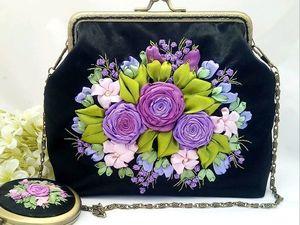 Вечерняя сумочка — новинка магазина. Ярмарка Мастеров - ручная работа, handmade.