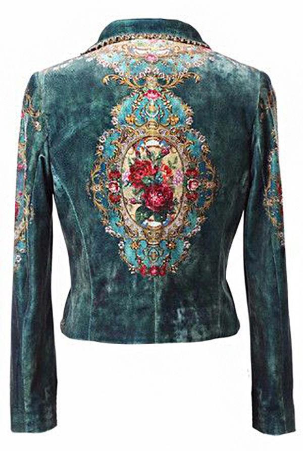 Многообразный декор джинсовых курток: 50 интересных вариантов, фото № 11