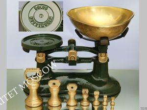 Весы гири как у Высоцкой бронза латунь чугун Англия 16 | Ярмарка Мастеров - ручная работа, handmade