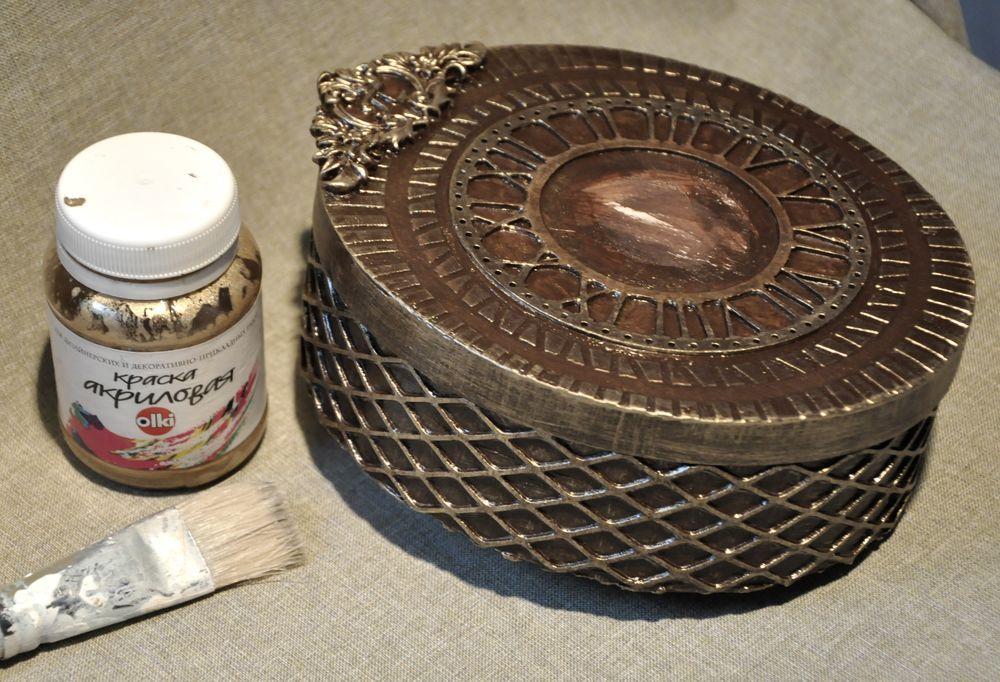 Создаем сказочные декоративные часы для большой елки, фото № 9