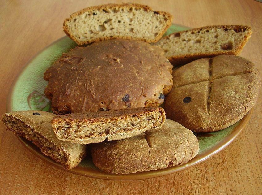бездрожжевой хлеб, здоровый хлеб