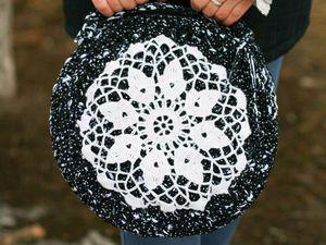 Летние сумки связанные из ленточной пряжи. | Ярмарка Мастеров - ручная работа, handmade
