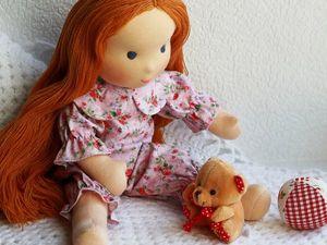 Кукла для Ольги: больше фото. Ярмарка Мастеров - ручная работа, handmade.