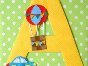 Делаем именное панно для детской. Ярмарка Мастеров - ручная работа, handmade.