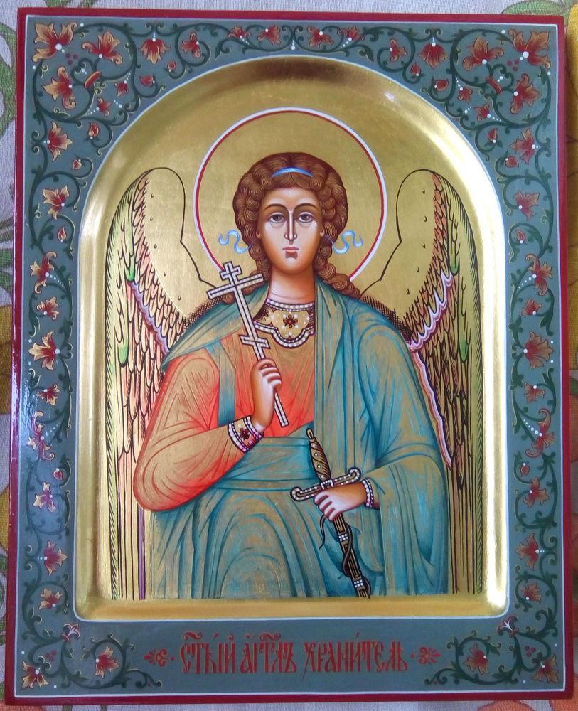 лучший подарок 2017, подарок к новому году, икона в подарок, икона ангел, рукописная икона