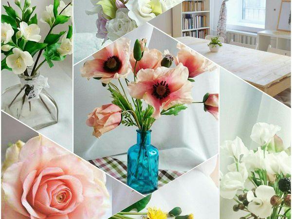 Набор Курс по Керамической Флористике от Victoria Flowers! | Ярмарка Мастеров - ручная работа, handmade
