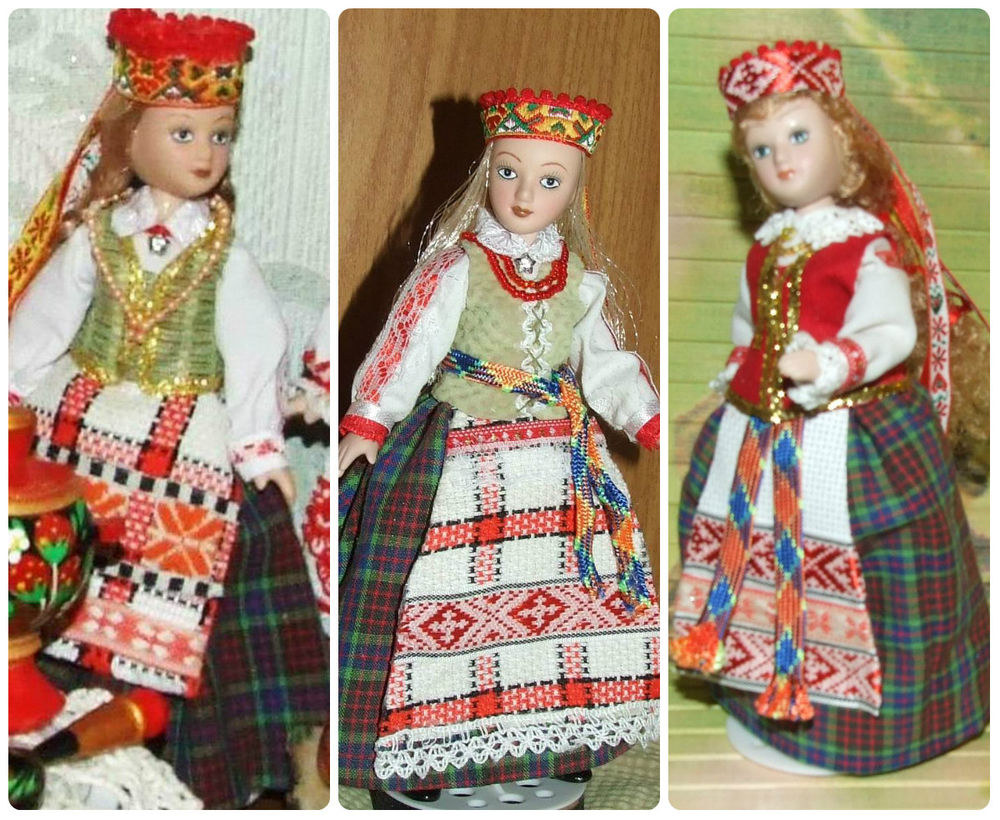 латышский костюм