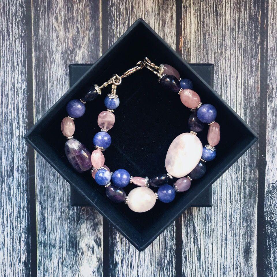 санкт-петербург, украшение на руку, камни обереги, минералы, ручная работа